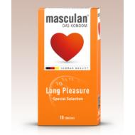 Masculan Extra Long Pleasure óvszer.