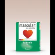 Masculan- anatómiailag formált gumióvszer 3 db