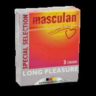 Masculan- Az aktus meghosszabbítására tervezett gumi óvszer.