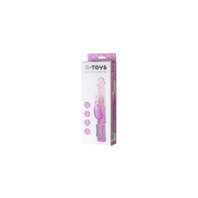 Toys- vibrátor forgó gyöngyökkel klitorisz karral