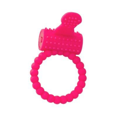 A-Toys vibrációs péniszgyűrű klitorisz izgatóval