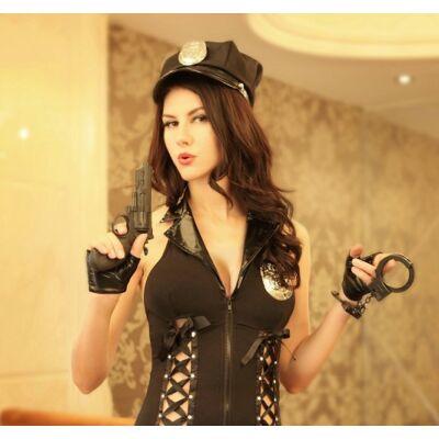 Szexi rendőrnő jelmez