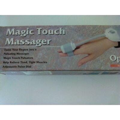 Magic Touch-ujjra húzható, csukón rögzíthető masszírozó