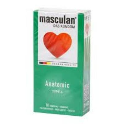 Masculan- anatómiailag formált gumióvszer.
