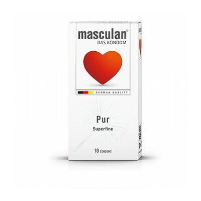 Masculan- Leheletvékony gumióvszer 10 db