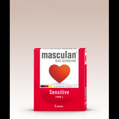 Masculan szuper vékony óvszer 3 db