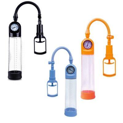 A-toys Vákumos nyomásmérős pénisz pumpa