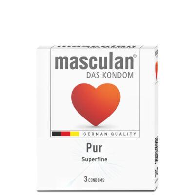 Masculan- Leheletvékony gumióvszer