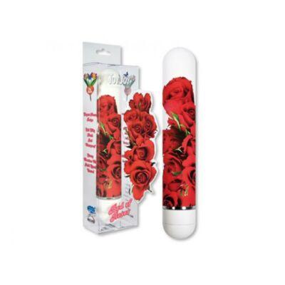 FLOWER VIBE - rózsa mintás vibrátor